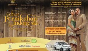 Gebyar Pernikahan Indonesia 2014 – Pameran Pernikahan Tradisional