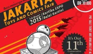 Jakarta 11th Toys & Comic Fair 2015