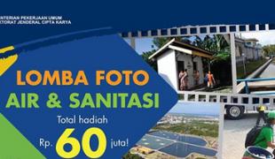 """Lomba Foto """"Air Dan Sanitasi Untuk Kehidupan Yang Lebih Baik"""" (Deadline: 10 Mei 2014)"""