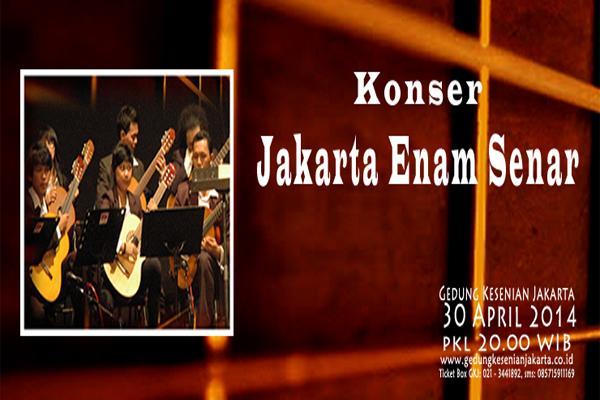 Konser Jakarta Enam Senar