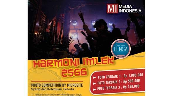 Lomba Foto Harmoni Imlek 2566 (Deadline: 8 Maret 2015)