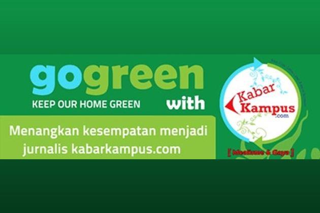 "Lomba Fotografi Dan Essay : ""Green Lifestyle Dan Global Warming"" (Deadline: 12 April 2014)"