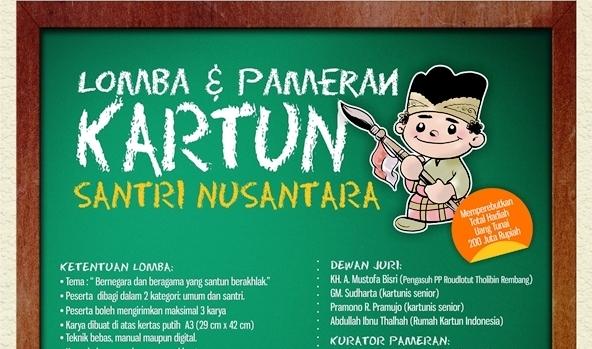 Lomba Kartun Santri Nusantara