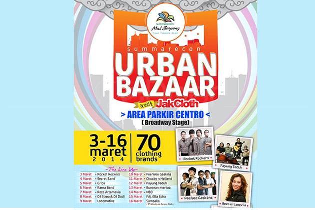 Summarecon Urban Bazaar With JakCloth 2014