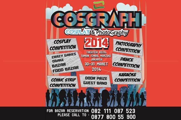 Taman Ismail Marzuki Gelar Cosgraph (Cosplay & Photography)