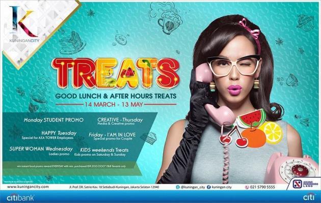 Treats Good Lunch & After Hours Treats, Kuningan City