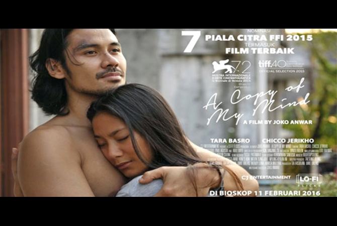 Film Terbaru Karya Joko Anwar 'A Copy of My Mind' Siap Dirilis