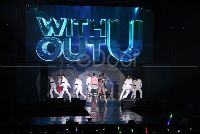 Pada konser kali ini 2PM juga sempat membawakan lagu anak Indonesia Satu-Satu