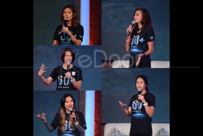 Sejumlah artis juga turut meramaikan Earth Hour 2015 yang diselenggrakan oleh Senayan City