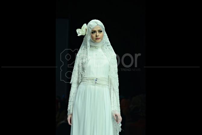 Koleksi hijab wedding dari Aira