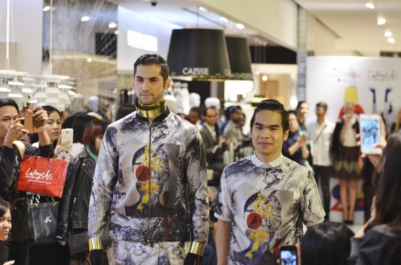 Patrick Owen Hadir Dalam Fashion Lab Di Galeries Lefayette Jakarta