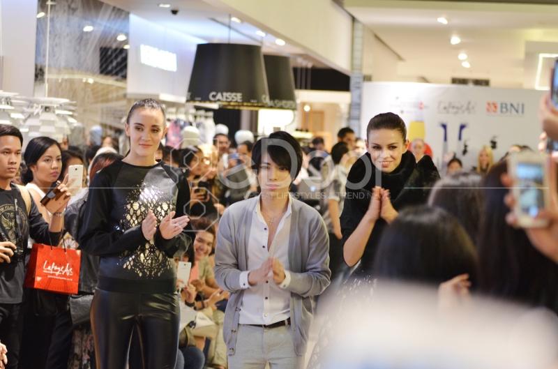 Tex Saverio Hadir Dalam Fashion Lab Di Galeries Lefayette Jakarta