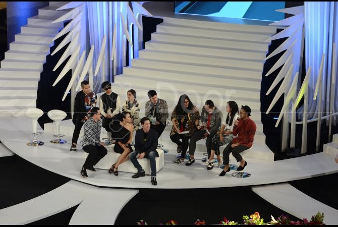 Malam pembukaan Fashion Nation Ninth Edition yang berlangsung di Main Atrium Senayan City