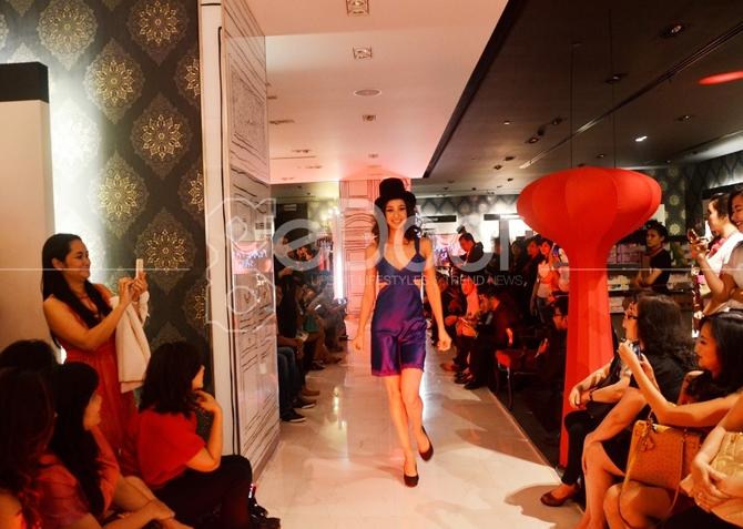 Lingerie Trunk Show yang digelar pada tanggal 30 Oktober 2014