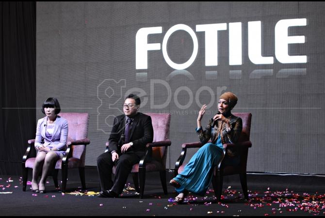 Mrs. Jiang Yi (General Manager Overseas Division Fotile), Mr. Hansen Christian (Direktur Fotile Indonesia) dan Dr. Lula Kamal