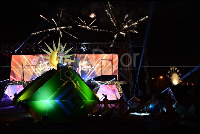 Gading Nite Carnival 2015 diakhiri dengan pesta kembang api