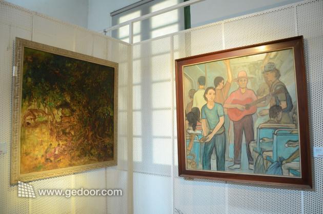 Galeri Lukisan Di Museum Seni Rupa Dan Keramik