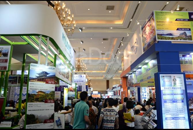 Event GATF 2015 diiukti oleh puluhan travel agent