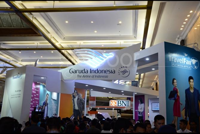 Garuda Indonesia merupakan maskapai penerbangan terbesar di Indonesia