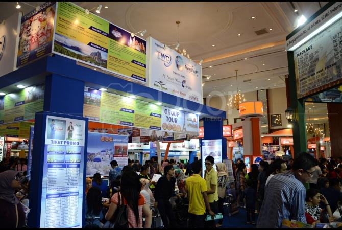 Pengunjung sangat antusias dengan gelaran event GATF 2015, terbukti pengunjung memadati event ini pada hari pertama event ini digelar