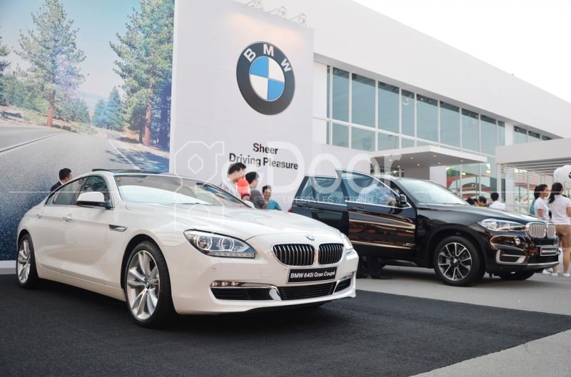 Booth Spesial BMW Di IIMS 2014