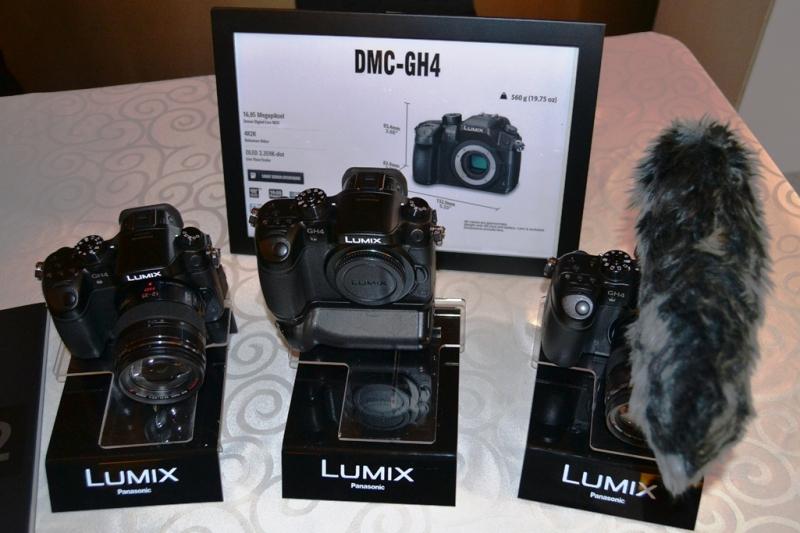 Kamera Lumix Mirrorless DMC-GH4 Dengan Teknologi 4K