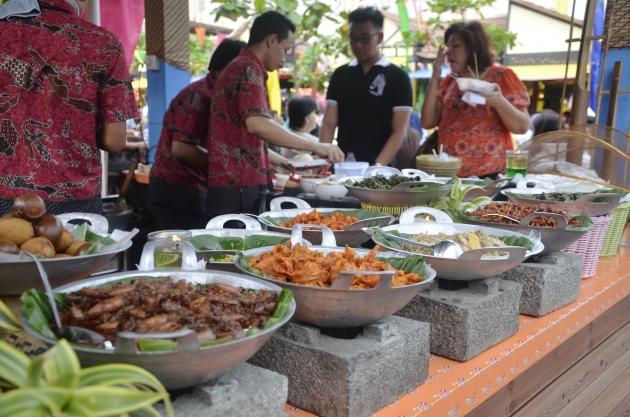 Festival Kuliner Nusantara Kelapa Gading 2014