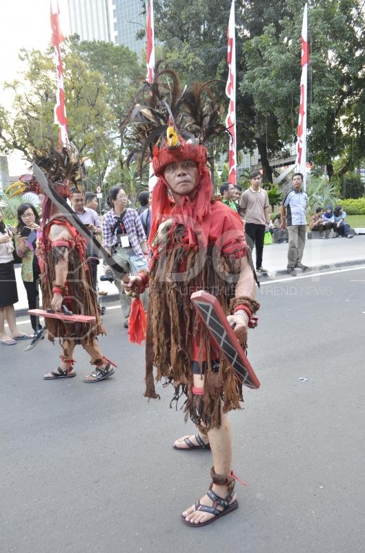 Perayaan HUT RI Ke-69 Di Jakarta