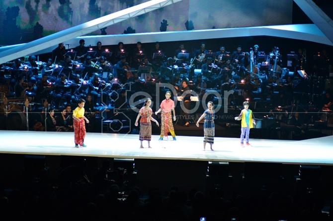 Total Keseluruhan Ada 25 Karya Dari Guruh Soekarno Yang Dibawakan Dalam Konser SATU Indonesia