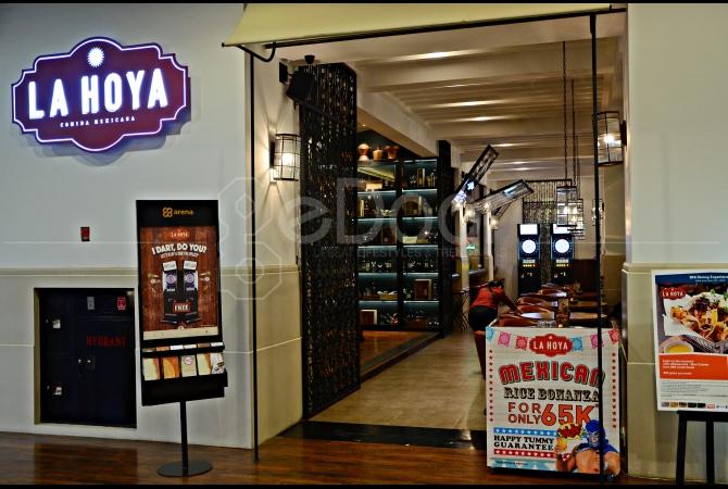 La Hoya Comida Mexicana yang berada di Gandaria City