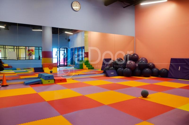 The Gym Merupakan Tempat Dimana Si Kecil Bisa Melatih Saraf Motoriknya Sesuai Dengan Kebutuhan Anak