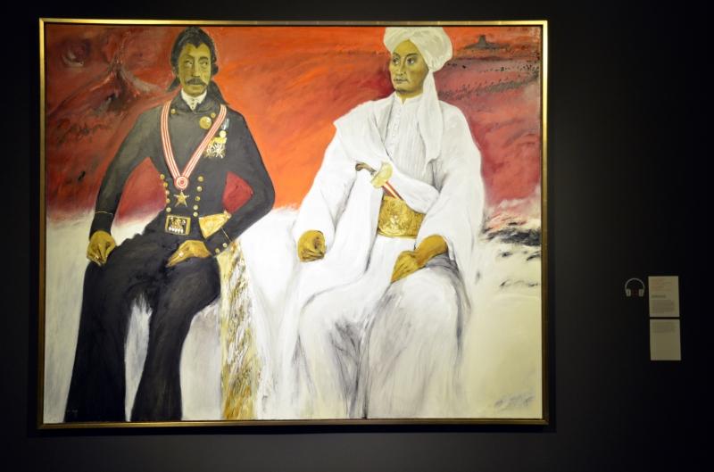 Salah Satu Lukisan Tentang Perjuangan Pangeran Diponegoro
