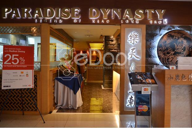 Paradise Dynasty Sensasi Masakan Negeri Tirai Bambu
