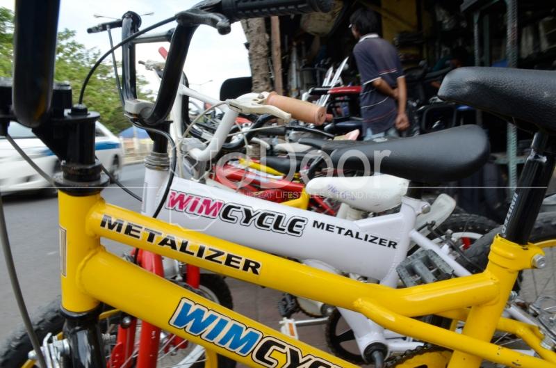 Kurang Lebih Ada Puluhan Toko Yang Menjual Sepeda Di Kawasan Ini