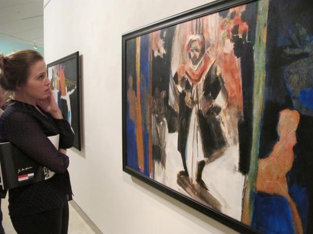 Pameran lukisan Banten Di Erasmus Huis Jakarta