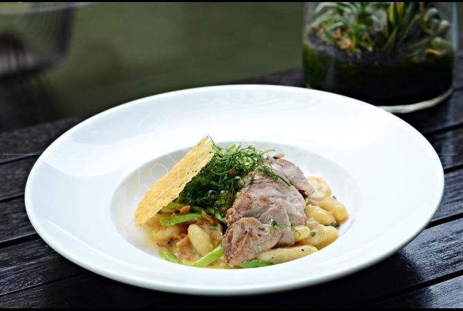 Gnocchi Con Anatra salah satu menu pasta baru yang ada di Portico