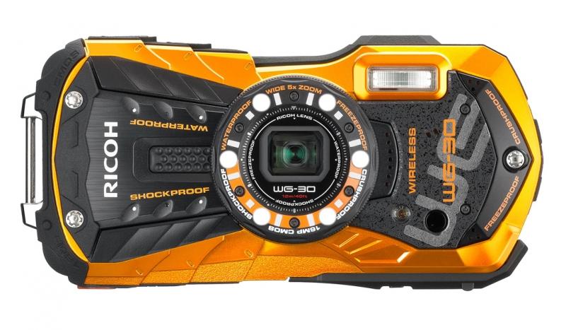 Ricoh WG-30W Kamera Tahan Banting