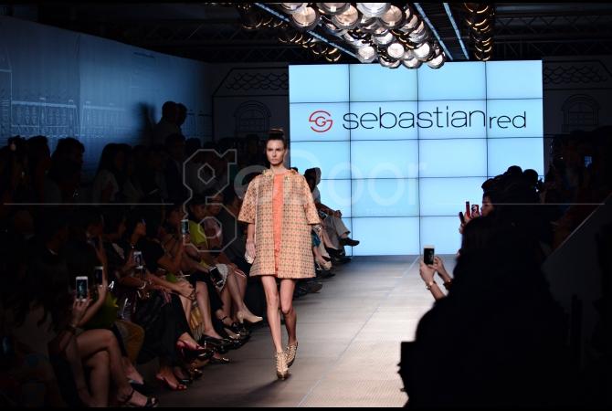 Koleksi terbaru Sebastian Gunawan dengan label Sebastianred