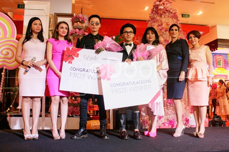 Raolel Madeo Dan Charles Sumithio Adalah Pemenang Dalam Kontes Yang Digelar Di Galeries Lafayette Jakarta