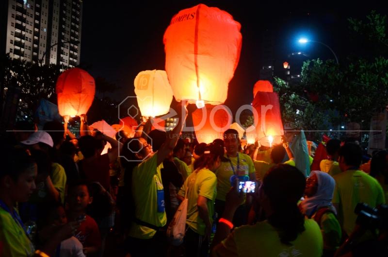 Lantern Night Run Diadakan Dengan Titik Start Di Mall @ Alam Sutera