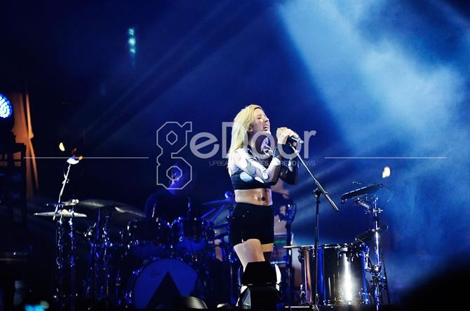 Si Seksi Ellie Goulding Tutup Gelaran We The Fest 2014