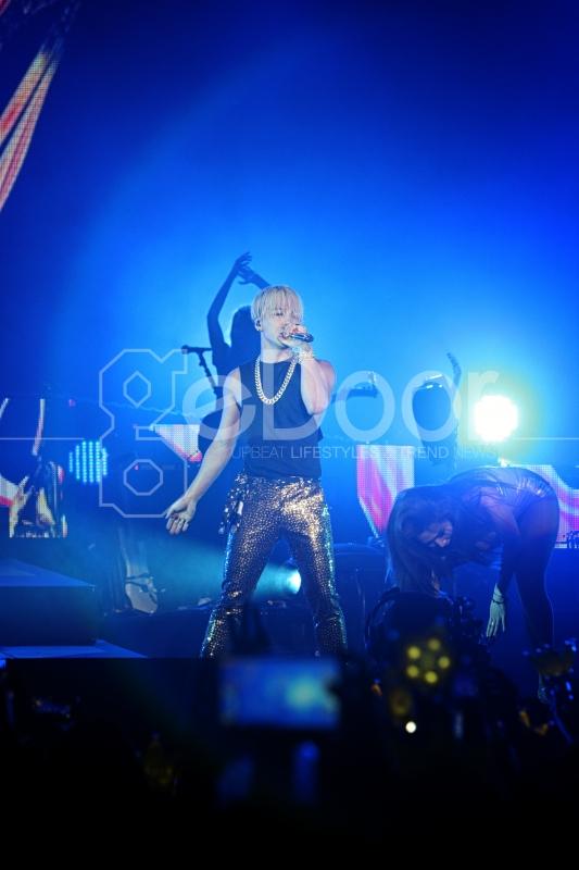 Konser Ini Diberi Tajuk '2015 Taeyang World Tour: RISE in Jakarta'