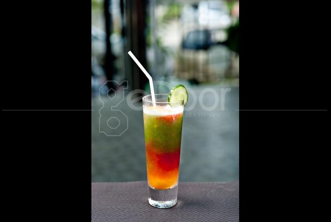 Mocktail Fruit Loops perpaduan dari buah-buahan