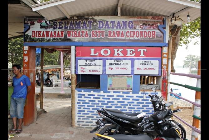 Wisata Air Situ Cipondoh Tangerang