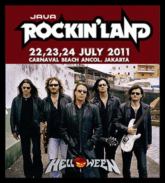 HELLOWEEN In Java ROCKIN'LAND