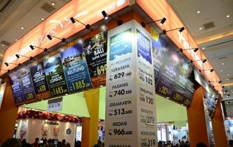Tiket Murah Warnai Garuda Indonesia Travel Fair 2015