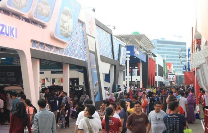 Aksesoris Mobil Lengkap dan Murah di Jakarta Fair