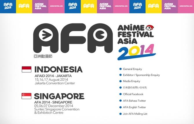 Anime Festival Asia Indonesia 2014 (AFAID 2014)