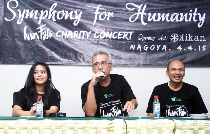 Dompet Dhuafa Gandeng Iwan Fals Dan Kikan Gelar Konser Amal Di Jepang