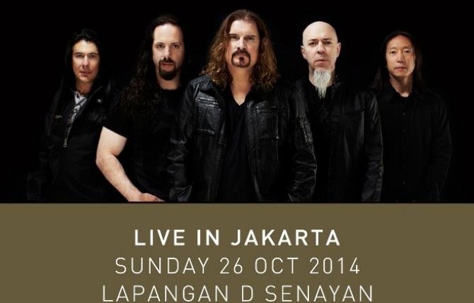 Dream Theater Kembali Manggung Di Jakarta 26 Oktober 2014